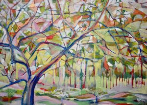 Forest Painting Kenya